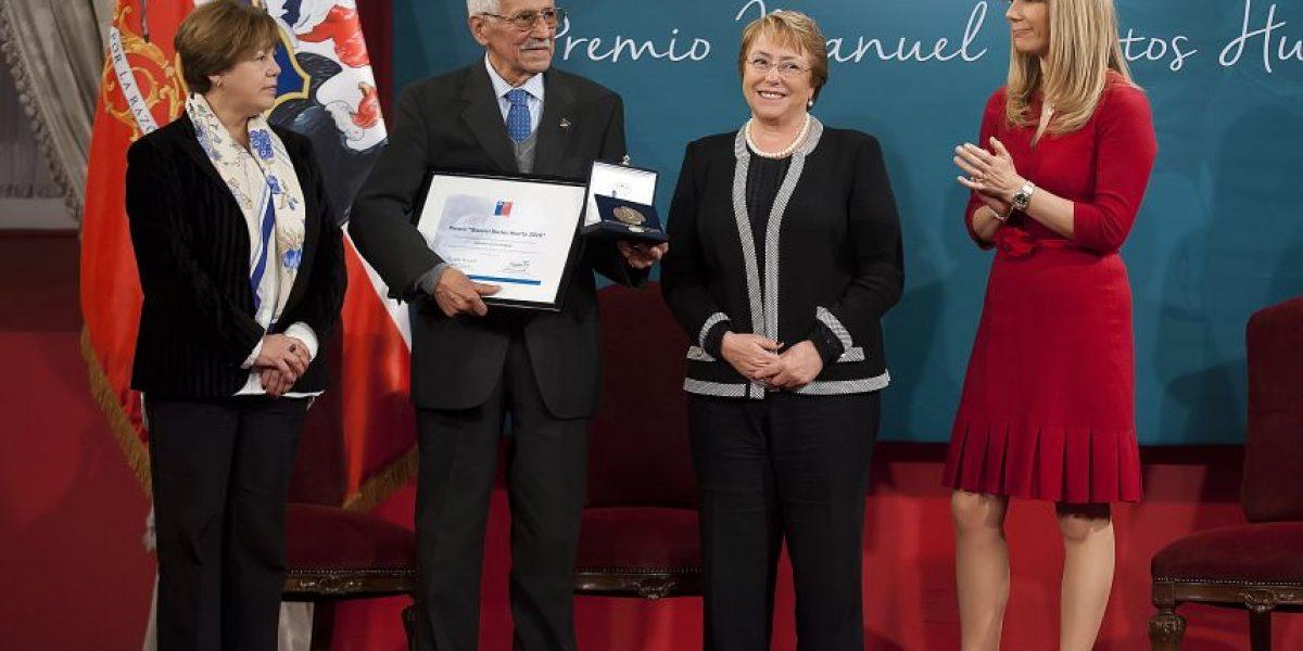 Dirigente sindical con 60 años de trayectoria ganó premio