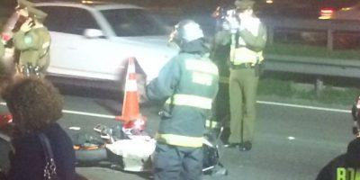 Dos muertos en accidente de tránsito en Maipú