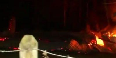 Ataques incendiarios en La Araucanía afectaron a dos iglesias