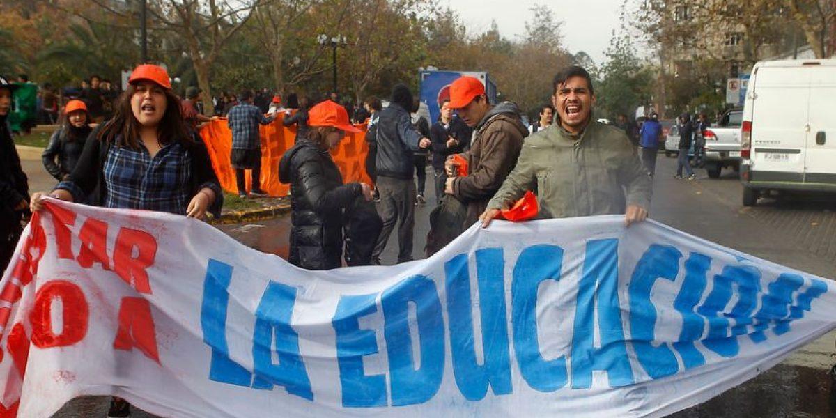 """Estudiantes por disturbios: """"Esto se produce porque el gobierno nos tiene miedo"""""""