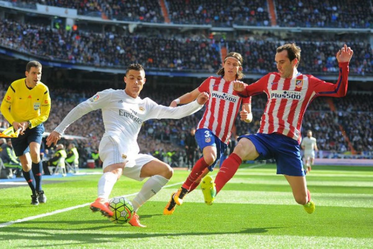 Real Madrid vs. Atlético de Madrid Foto: Getty Images. Imagen Por: