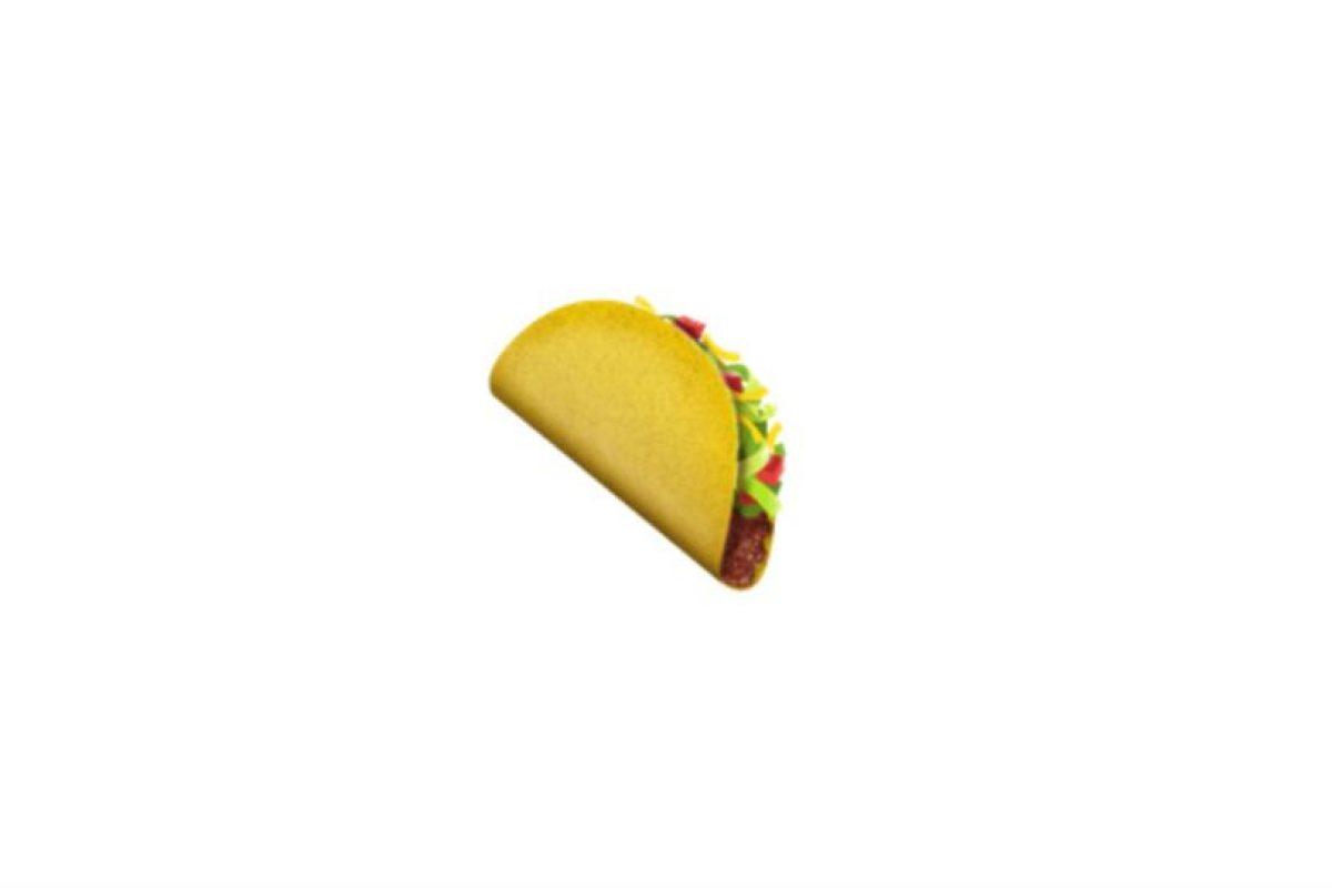 El taco fue recientemente incluido. Foto:Emojipedia. Imagen Por: