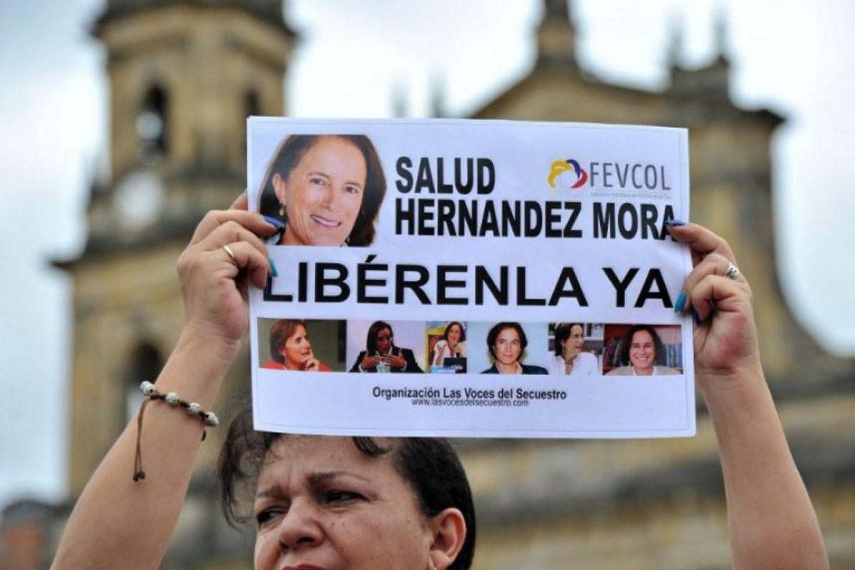 La periodista española fue liberada esta tarde Foto:AFP. Imagen Por: