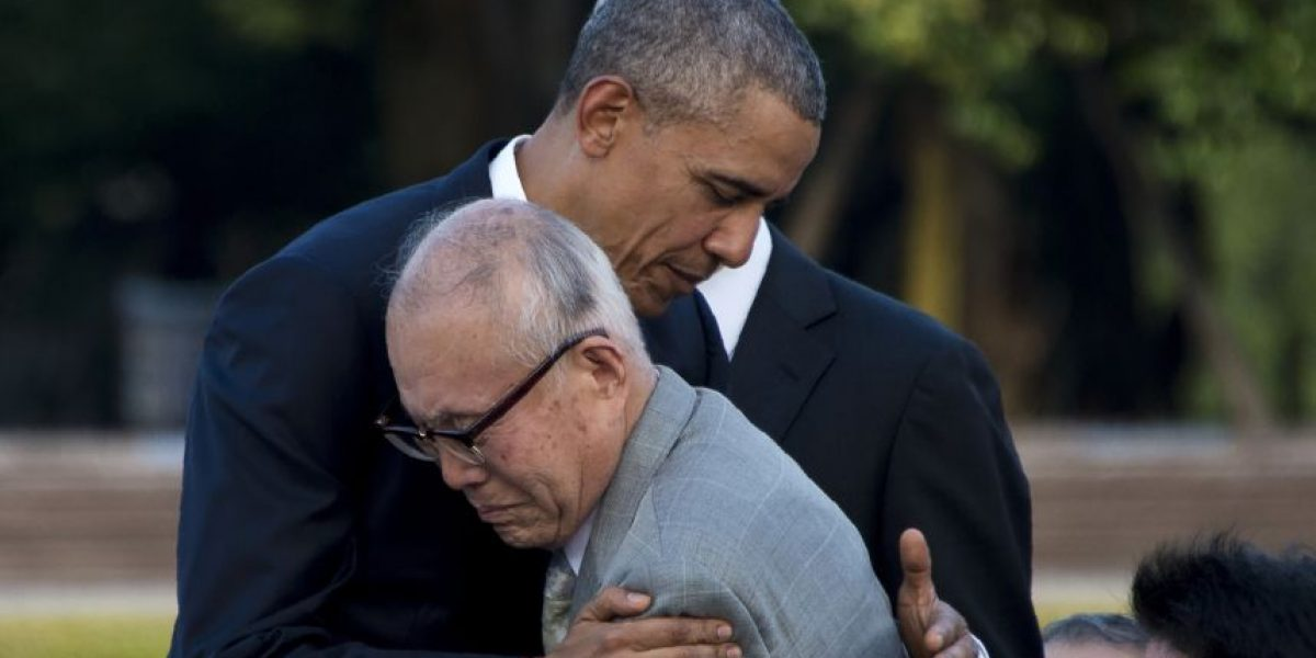 Obama hace histórica visita a Hiroshima y pide un mundo sin armas nucleares