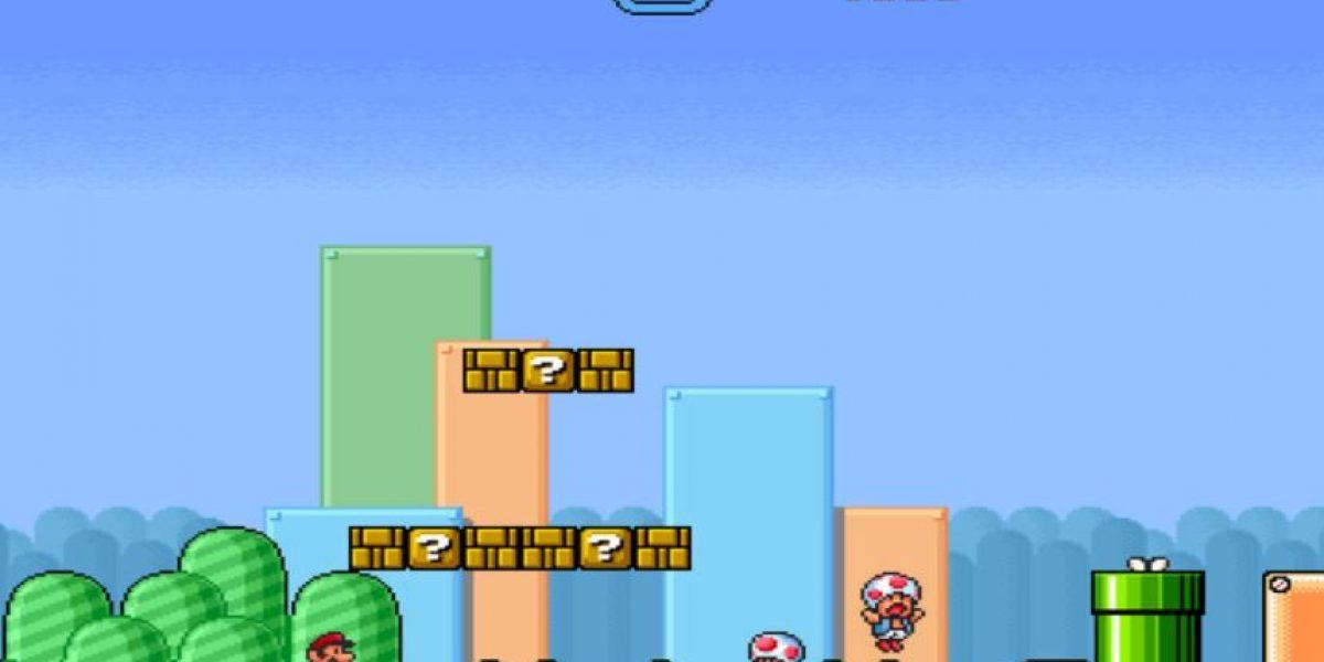 Vean su reacción cuando le piden matrimonio a través de Mario Bros