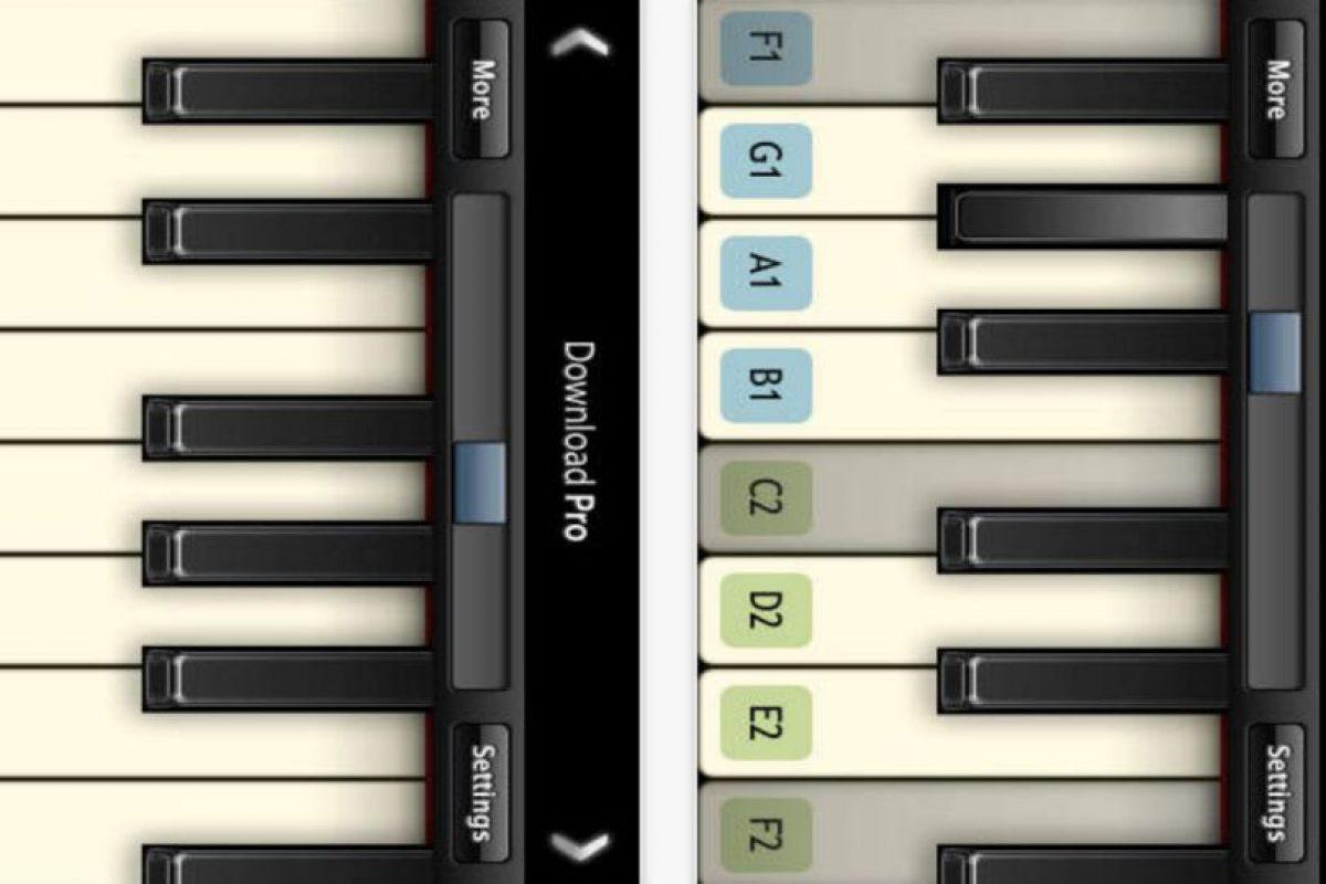 4.- Virtuoso Piano Free 2 Foto:App Store. Imagen Por: