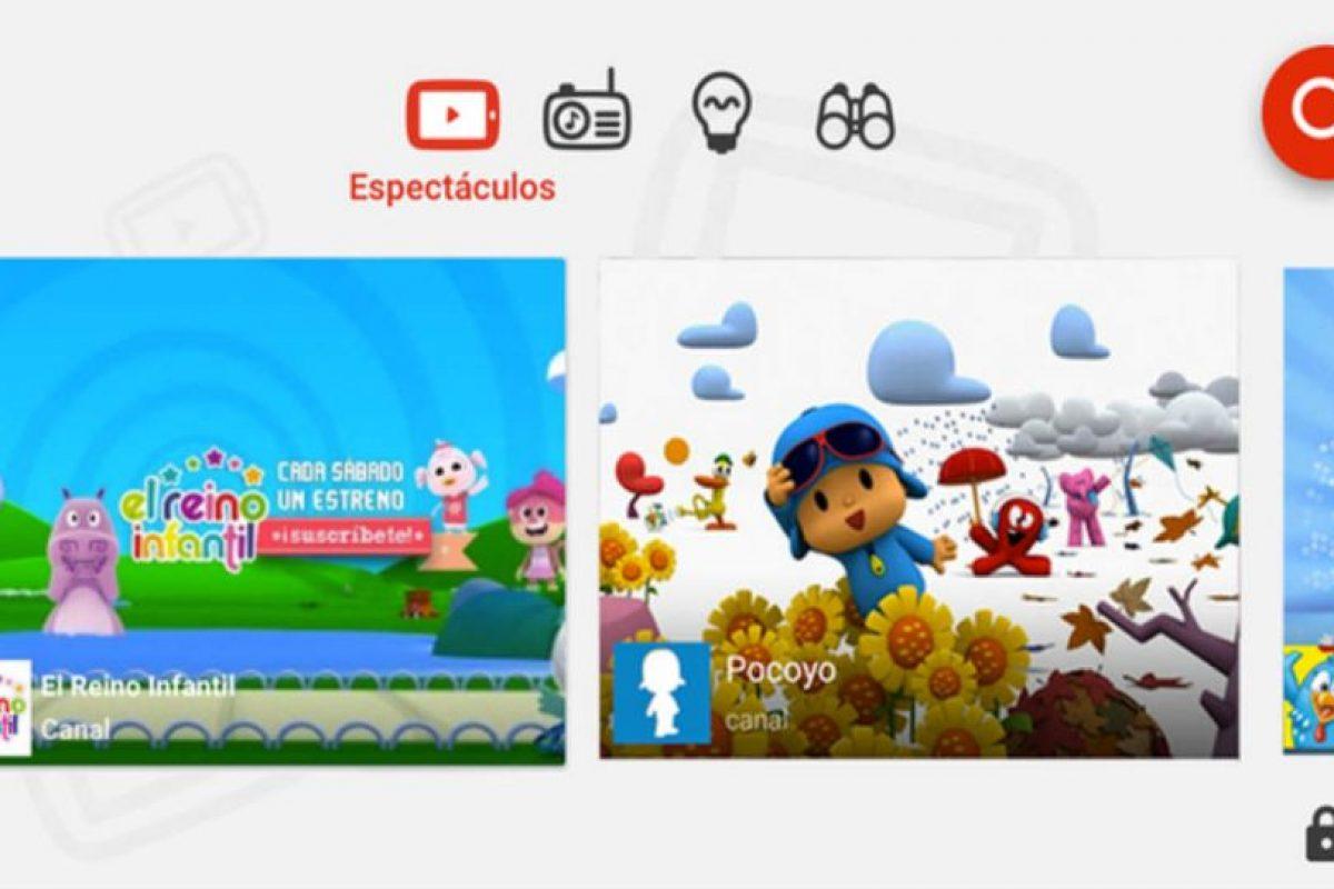2.- YouTube Kids Foto:App Store. Imagen Por: