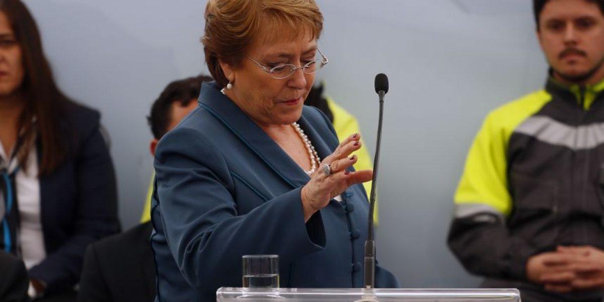 Bachelet desmintió de manera tajante publicación sobre caso Caval: