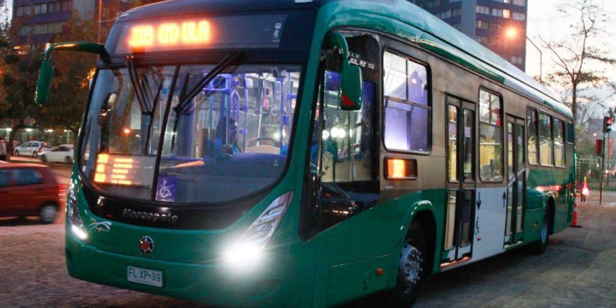 En el recorrido I09: primer bus híbrido del Transantiago entra en servicio