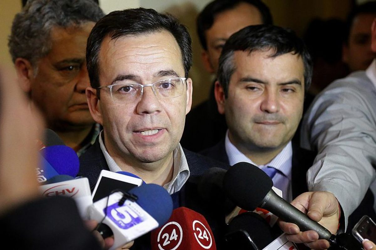 Ministro Luis Felipe Céspedes Foto:Aton. Imagen Por: