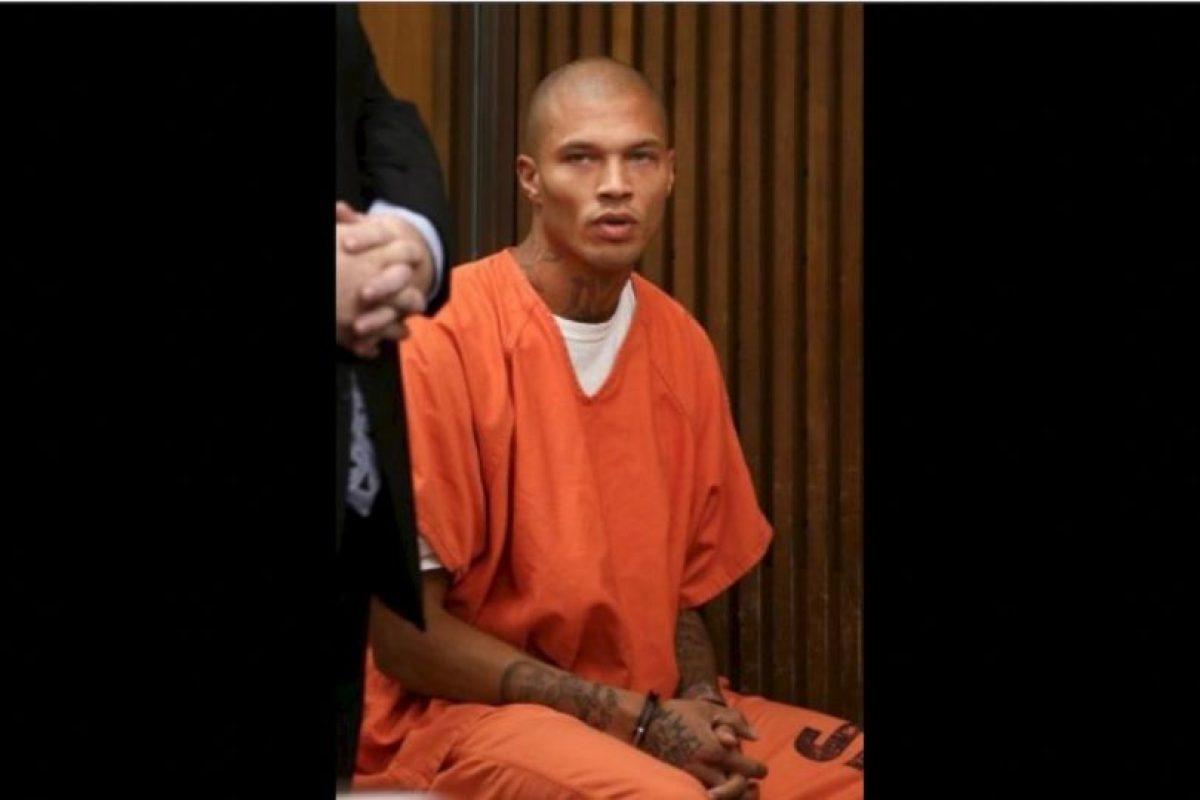 No fue la primera vez que llegó a la cárcel Foto:Facebook/Jeremy Meeks. Imagen Por:
