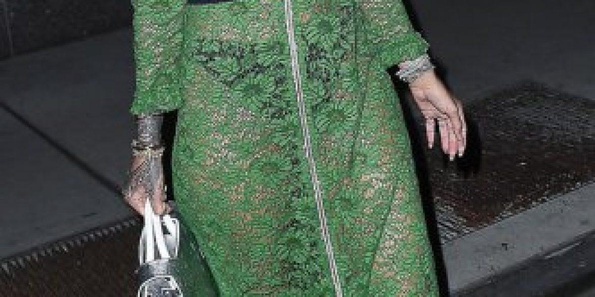 El vestido con que Rihanna no dejó nada a la imaginación