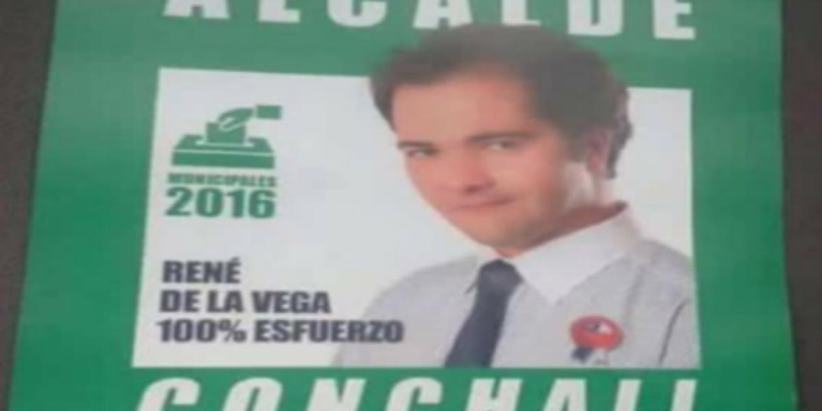 René de la Vega quiere ser alcalde de Conchalí