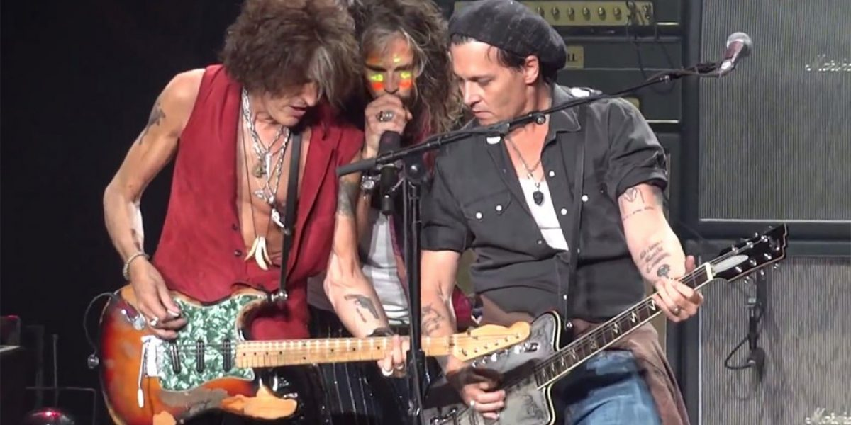 La banda de Johnny Depp alista su debut en el Rock in Rio de Lisboa
