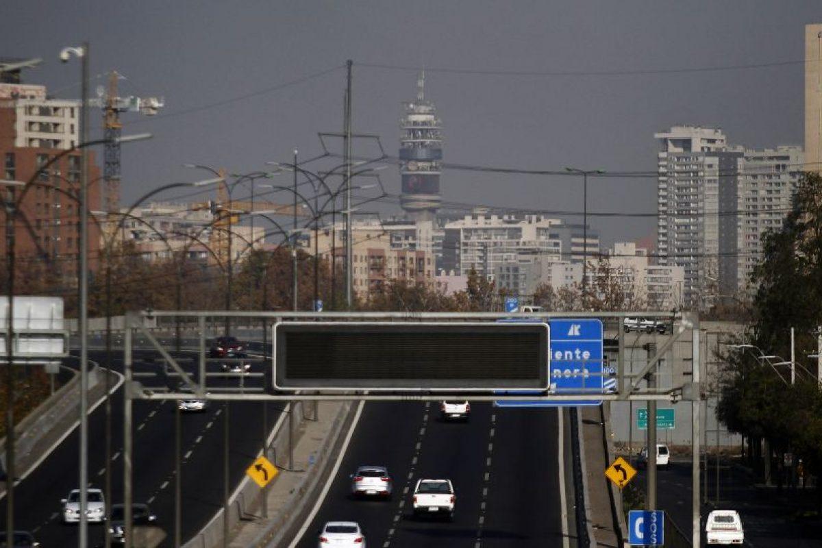 Alerta ambiental en la RegionMetropolitana Foto:Agencia Uno. Imagen Por:
