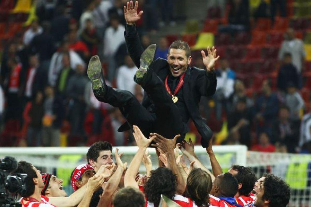 Desde 2011 lleva dirigidos 174 partidos de Liga con el Atlético. Foto:Getty Images. Imagen Por: