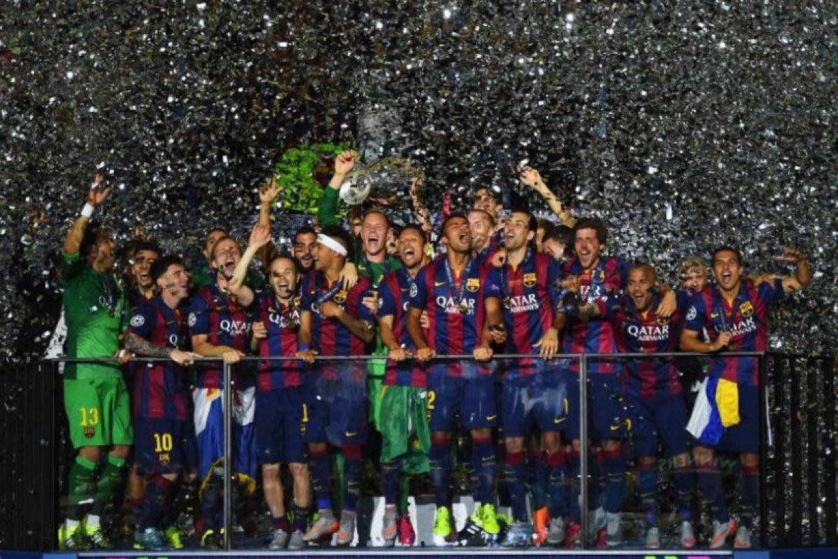 Barcelona (España)-5 títulos: 1992, 2006, 2009, 2011, 2015 Foto:Getty Images. Imagen Por: