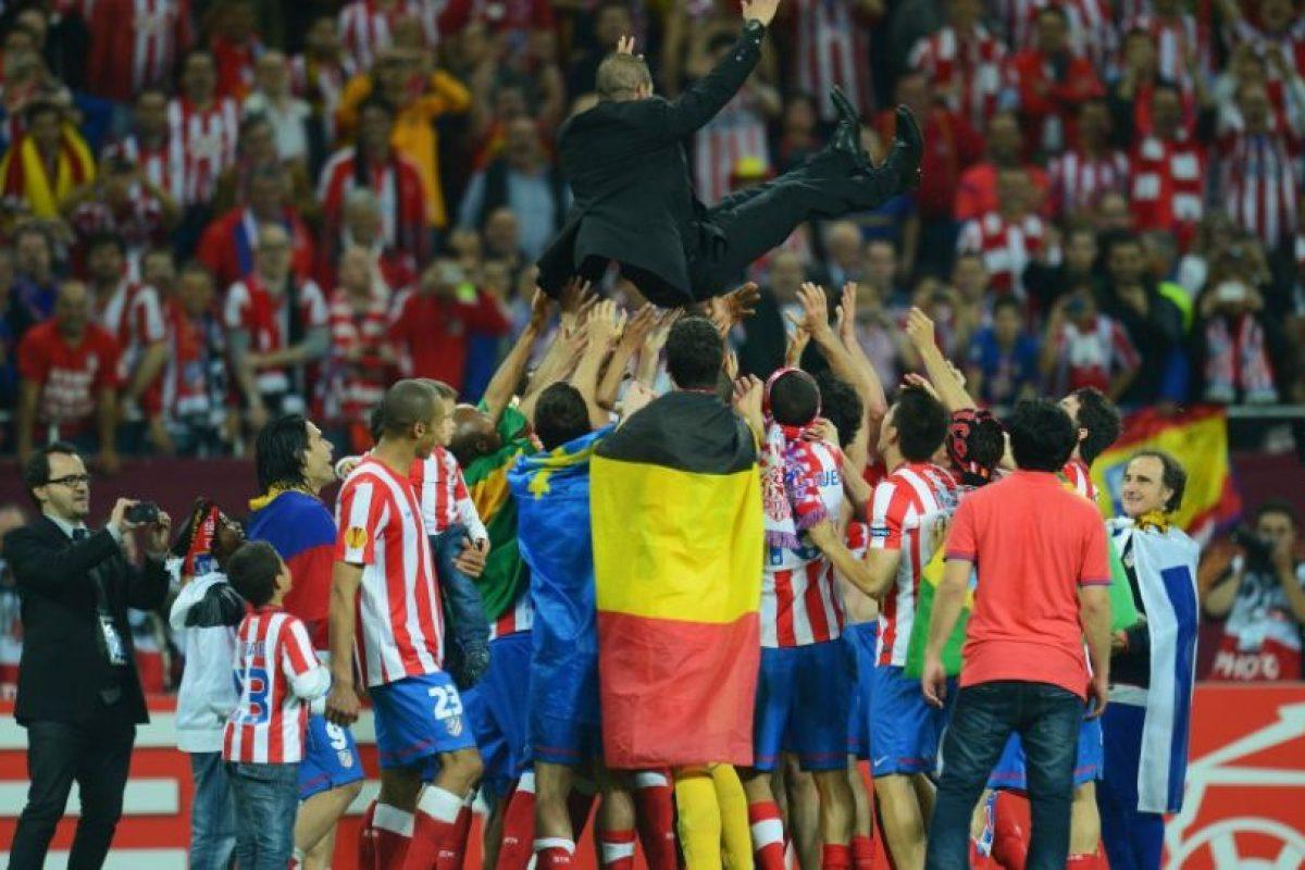 Al igual que en la Supercopa de la UEFA. Foto:Getty Images. Imagen Por: