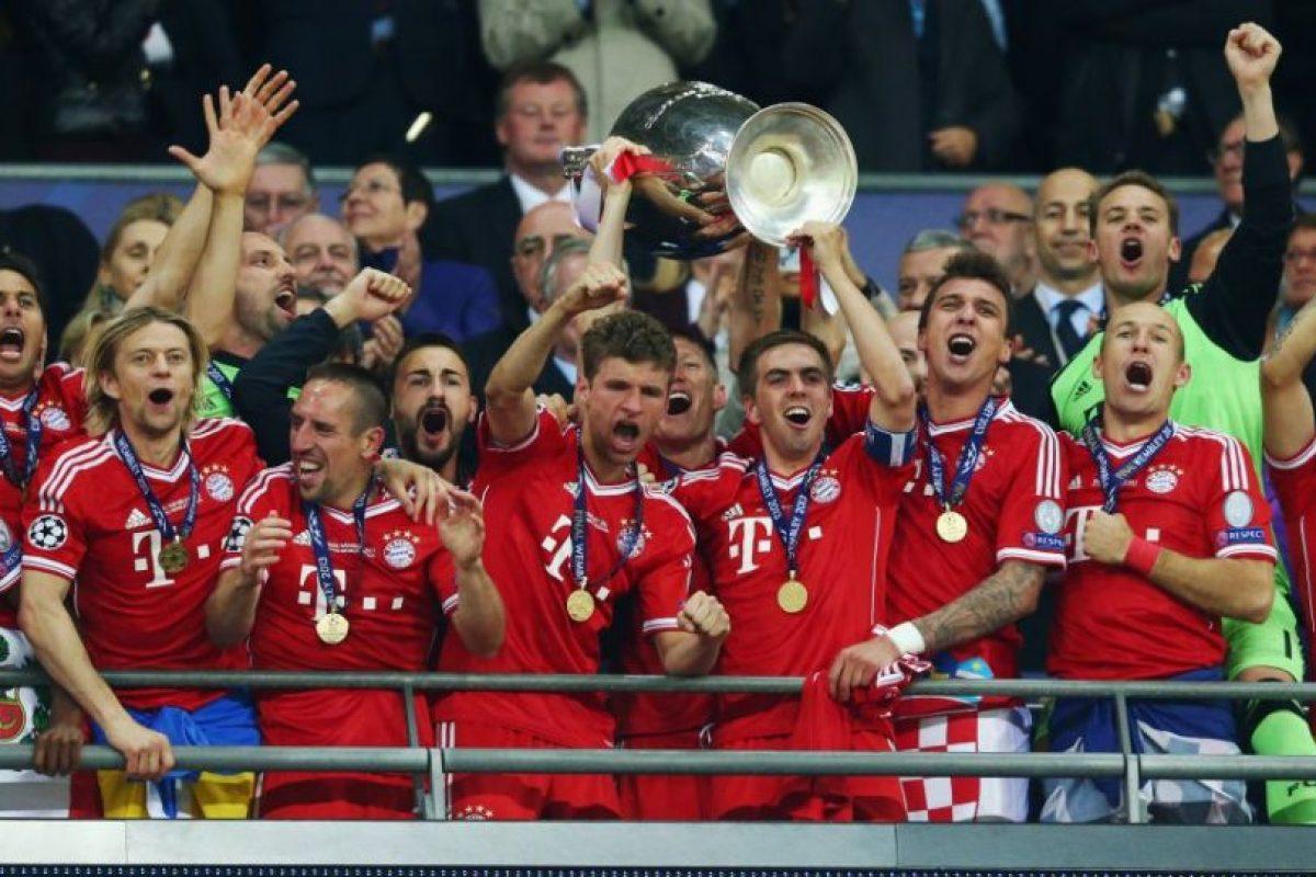 Bayern Munich (Alemania)-5 títulos: 1974, 1975, 1976, 2001, 2013 Foto:Getty Images. Imagen Por: