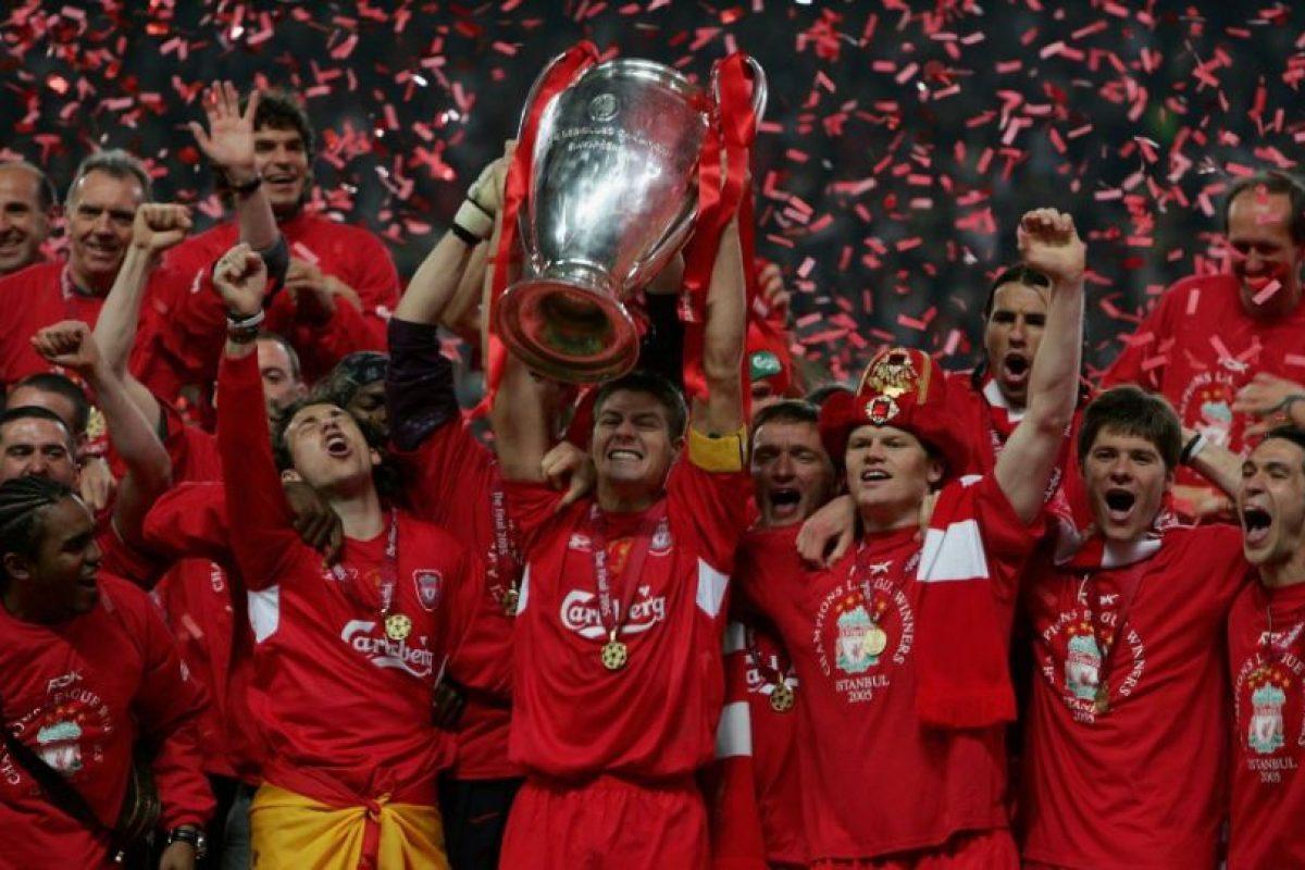 Liverpool (Inglaterra)-5 títulos: 1977, 1978, 1981, 1984, 2005 Foto:Getty Images. Imagen Por: