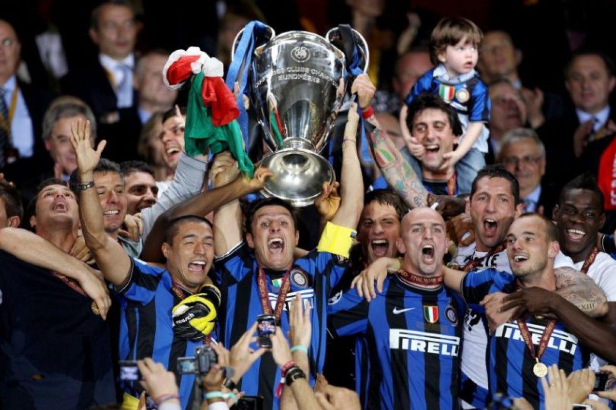 Inter de Milán (Italia)-3 títulos: 1964, 1965, 2010 Foto:Getty Images. Imagen Por: