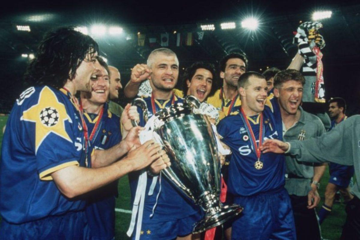 Juventus (Italia)-2 títulos: 1985, 1996 Foto:Getty Images. Imagen Por: