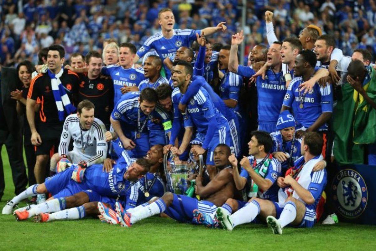 Chelsea (Inglaterra)-1 título: 2012 Foto:Getty Images. Imagen Por: