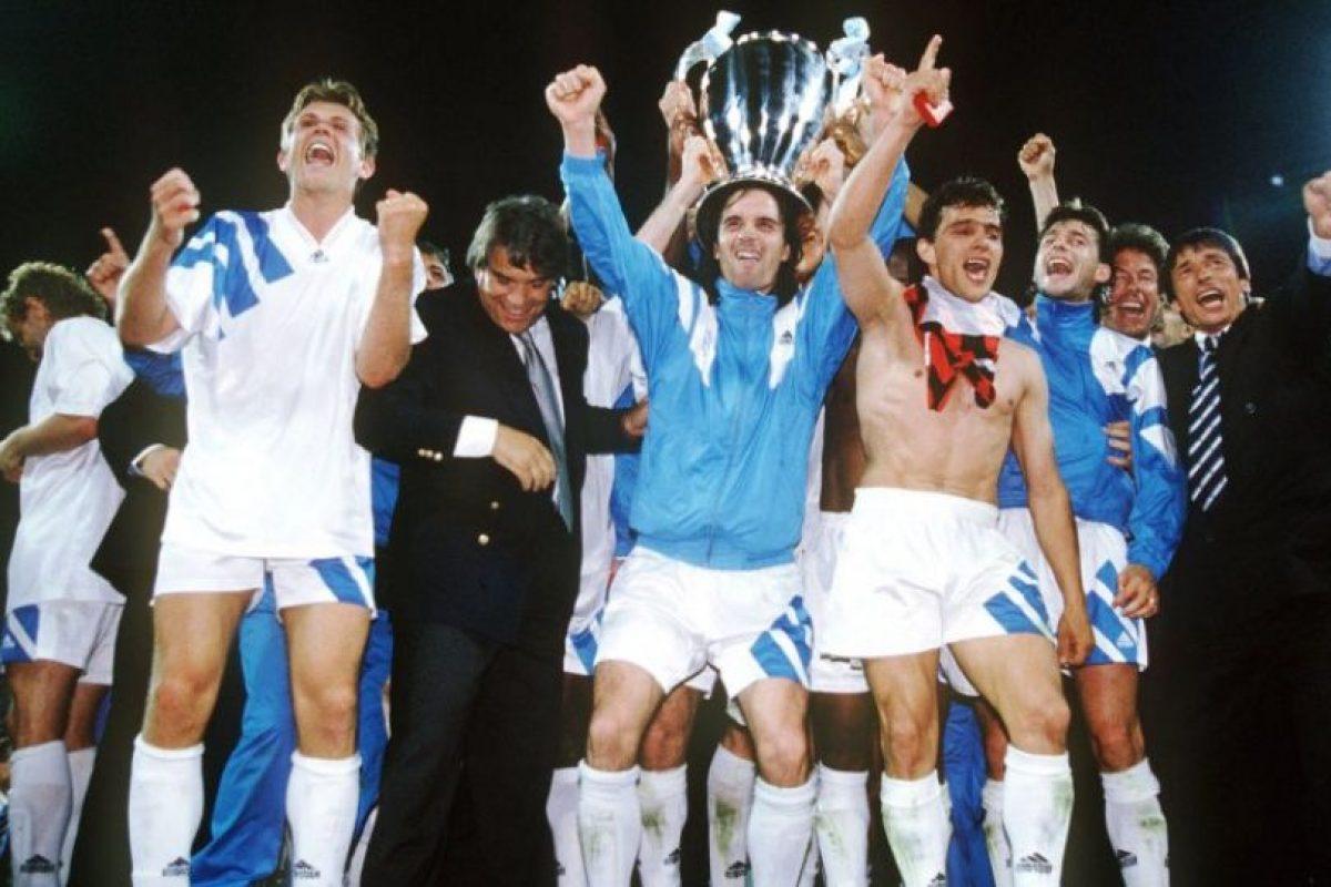 Olympique de Marsella (Francia)-1 título: 1993 Foto:Getty Images. Imagen Por: