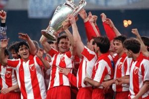 Estrella Roja (Serbia – ex Yugoslavia)-1 título: 1991 Foto:Getty Images. Imagen Por: