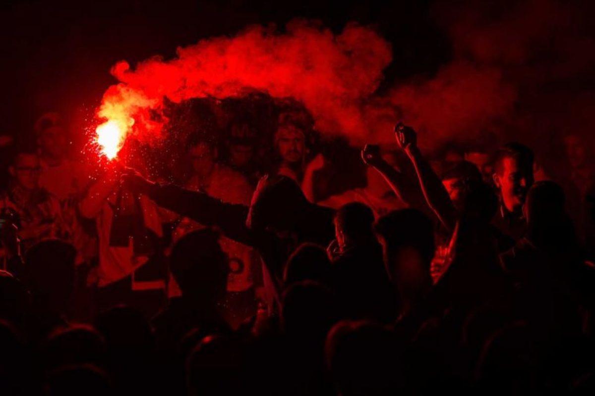 Esto ocurrió durante la final de la Champions League del sábado 28. Foto:Getty Images. Imagen Por:
