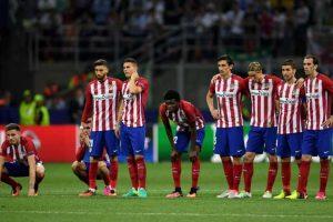 Los futbolistas estaban destrozados por la oportunidad que perdieron. Foto:Getty Images. Imagen Por: