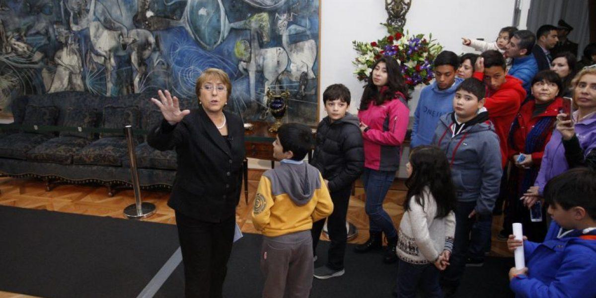 Presidenta Bachelet encabezó actividades por el Día del Patrimonio en La Moneda