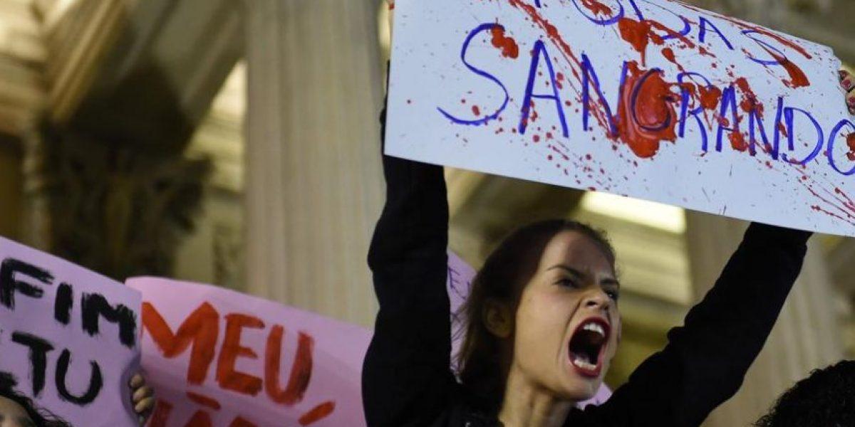 Habló la víctima de la violación masiva en Brasil: