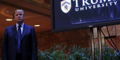 La universidad que Donald Trump fundó es acusada de fraude