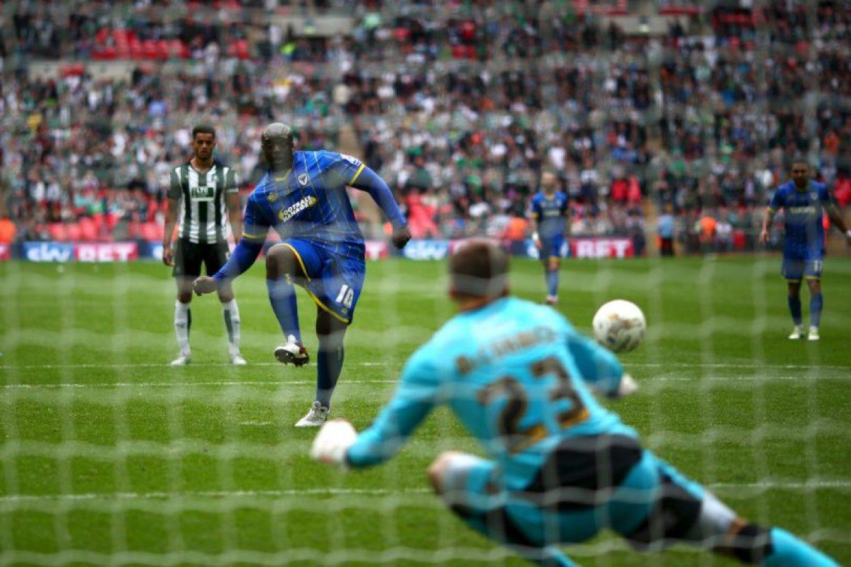 """Es llamado el """"Futbolista más fuerte del mundo"""" Foto:Getty Images. Imagen Por:"""