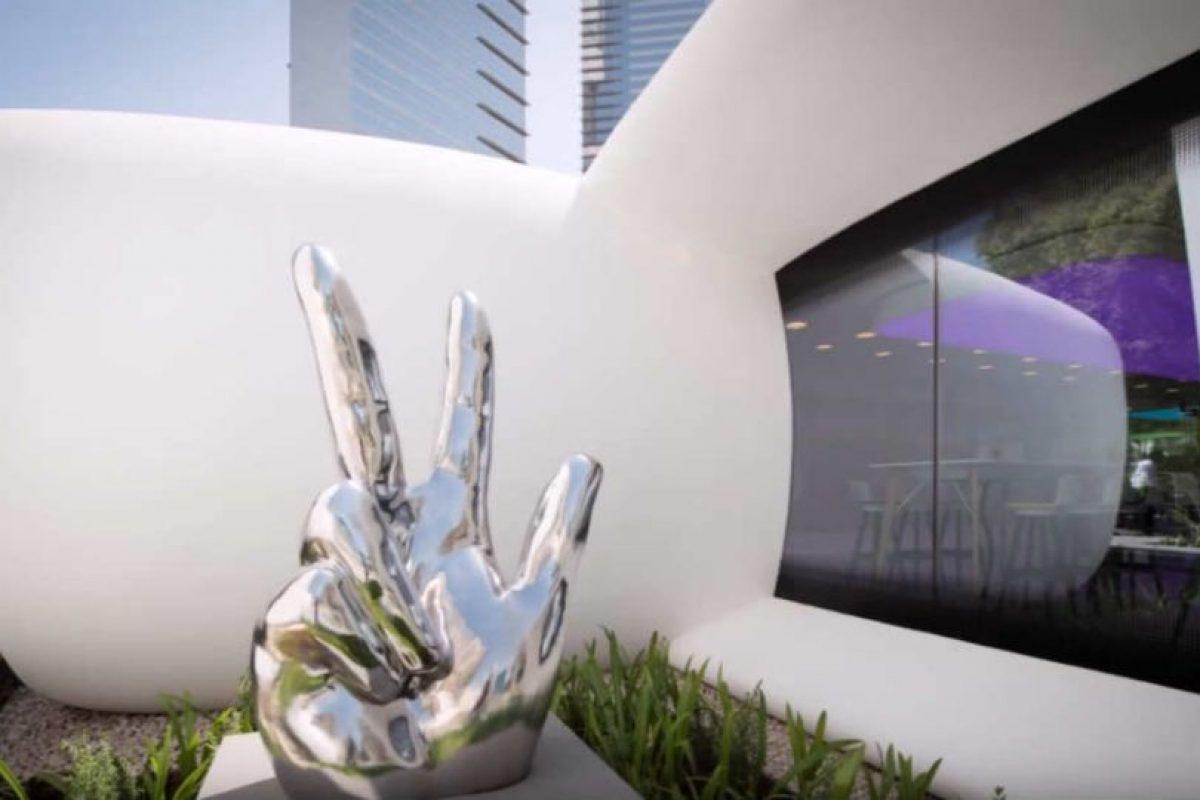 Así son por dentro las primeras oficinas impresas en 3D. Foto:YouTube/Dubai Future Foundation – UAE. Imagen Por:
