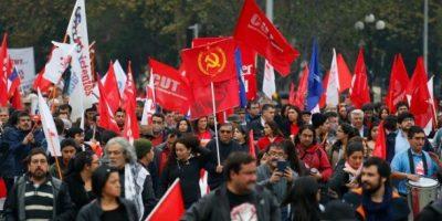 Conoce los desvíos en el centro de  Santiago por la marcha de la CUT