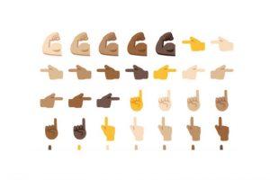 Android tendrá emoticones con diferentes colores de piel. Foto:Emojipedia. Imagen Por: