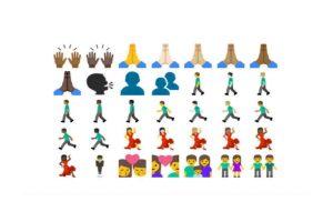 Muchos parecidos a los actuales en iOS. Foto:Emojipedia. Imagen Por: