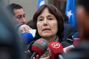 Ministra Carmen Castillo Foto:Agencia Uno. Imagen Por: