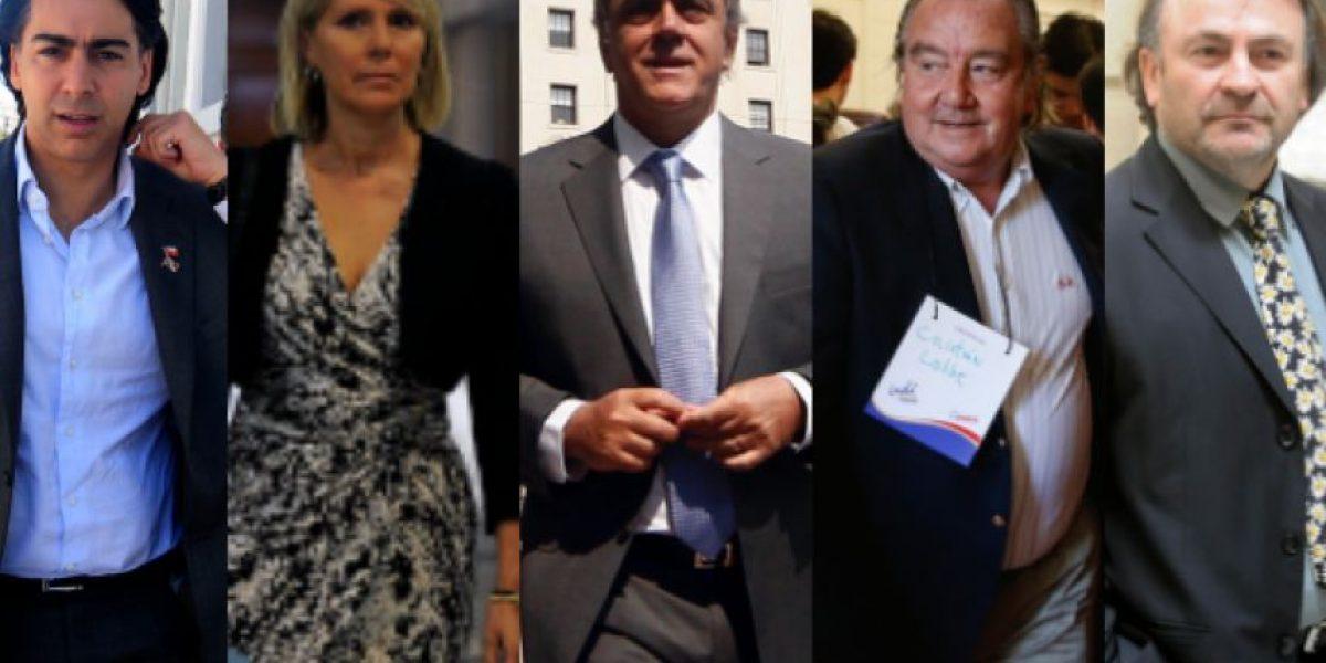 Las más emblemáticas renuncias a partidos políticos en Chile