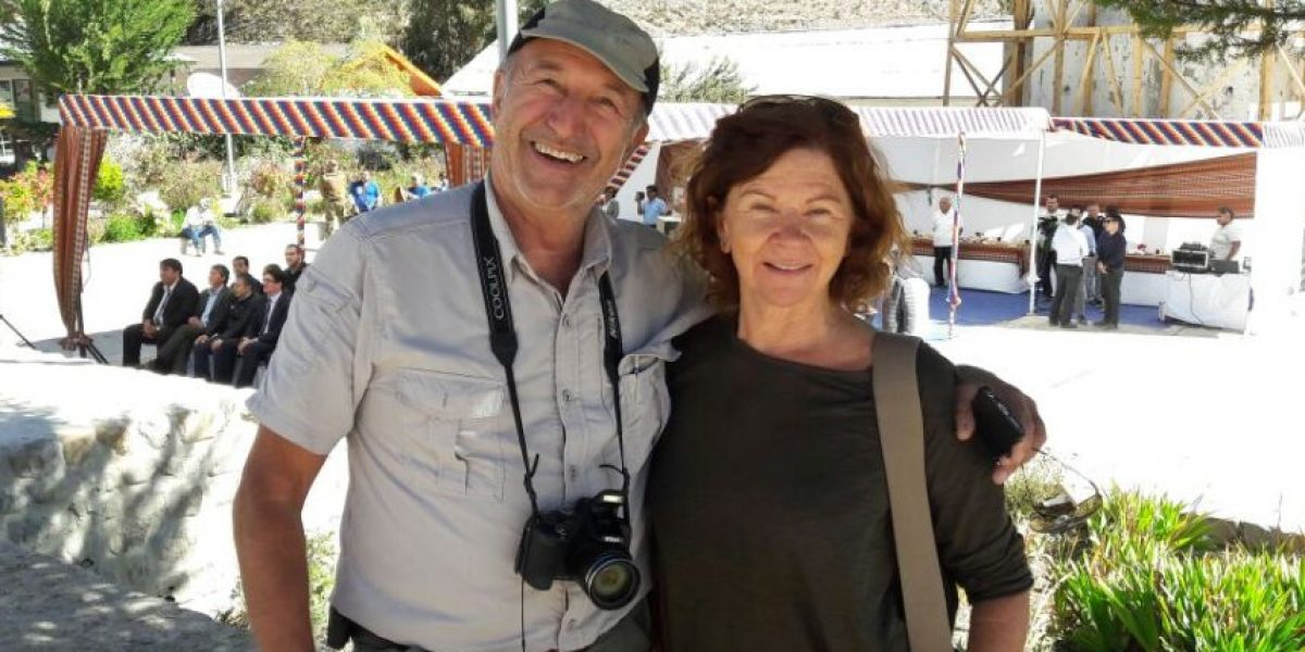 Publimetro en Belén: los turistas que de forma casual sumaron colorido a la fiesta