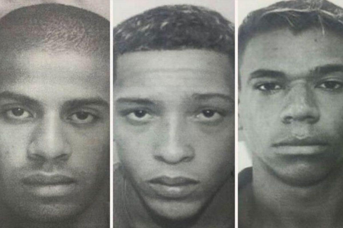 Estos son seis de los más de 30 violadores de una chica de Brasil Foto:Policía de Brasil. Imagen Por: