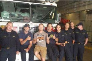 3. Bomberos de Canadá encontraron un teléfono perdido y tomaron fotos con él Foto:Facebook.com/nathan.buhler. Imagen Por: