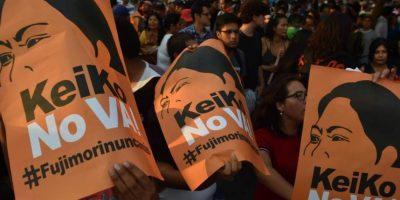Marcha contra Keiko Fujimori divide a Perú a 5 días de balotaje