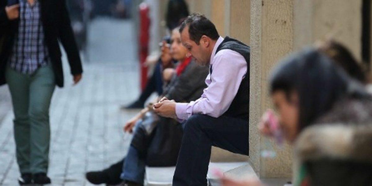Desocupación se eleva al 6,4% en trimestre febrero-abril