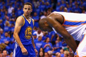 El MVP tiene a Golden State por segundo año consecutivo en la final de la NBA Foto:Getty Images. Imagen Por: