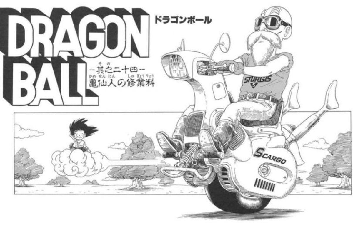En el manga original también pueden ver varios modelos de motocicletas de una sola rueda. Foto:Animation Toei. Imagen Por: