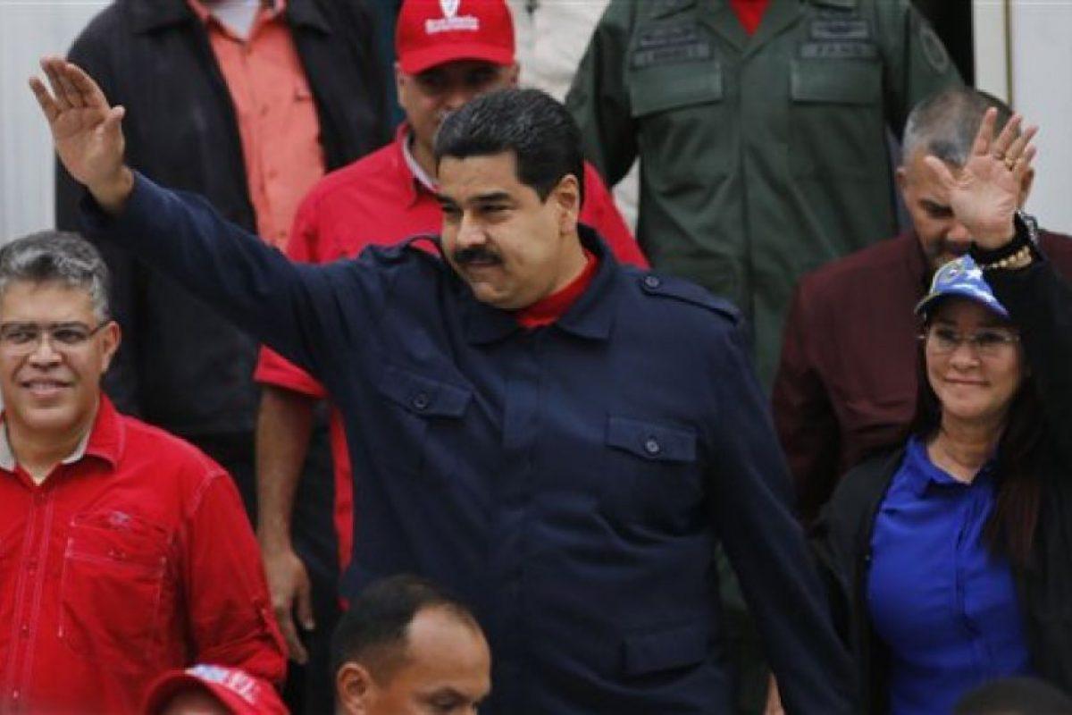 Maduro asumió su cargo tres días después de la muerte de Hugo Chávez el pasado 5 de marzo de 2013. Foto:AP. Imagen Por: