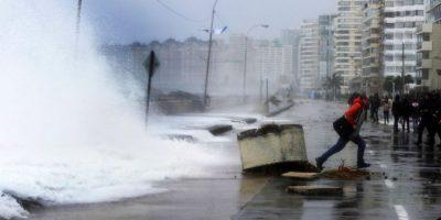 Armada alerta fuertes vientos y marejadas en las costas del litoral central